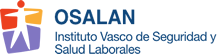 Logotipo Osalan - Instituto Vasco de Seguridad y Salud Laborales